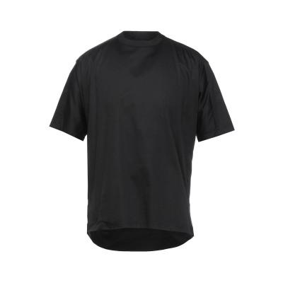 エンポリオ アルマーニ EMPORIO ARMANI T シャツ ブラック S コットン 97% / ポリウレタン 3% / レーヨン T シャツ