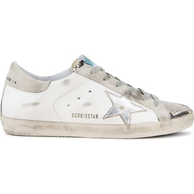ゴールデン グース Golden Goose Deluxe Brand レディース スニーカー シューズ・靴 Superstar Distressed Leather Sneakers White