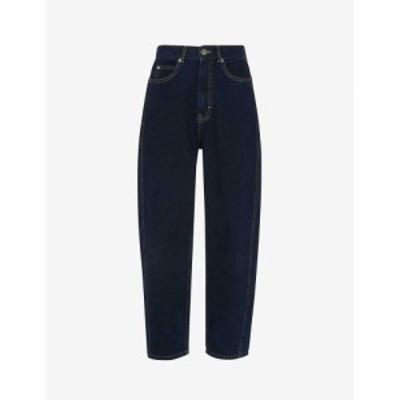 ホイッスルズ WHISTLES レディース ジーンズ・デニム ハイライズ ストレート ボトムス・パンツ Authentic Straight-Leg High-Rise Jeans