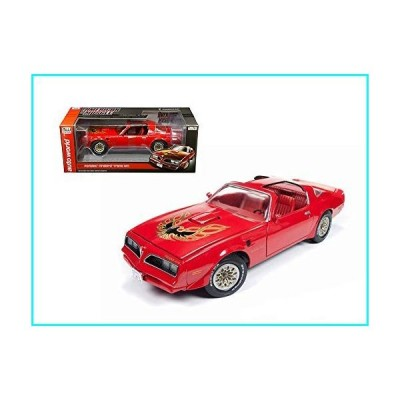 Auto World 1977 Pontiac Firebird Trans Am Hard Top, Buccaneer Red AMM1160 - 1/18 Scale Diecast Model Toy Car