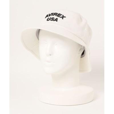 TopIsm / AVR USA 3D EMB バケットハット MEN 帽子 > ハット