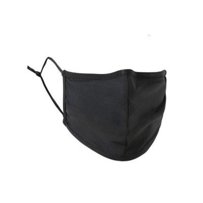 夏用マスク 水着生地 洗えるマスク 水着マスク 布 個包装 ブラック 通気性 UVカット クールマスク男女兼用