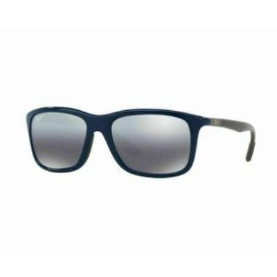 ファッション サングラス Ray ban mens sunglasses rb8352f 6222/82 57mm navy/grey polarized