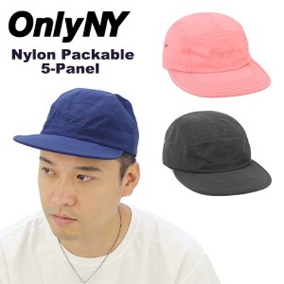 オンリー ニューヨーク(Only NY) Nylon Packable 5-Panel  キャップ/帽子[BB]
