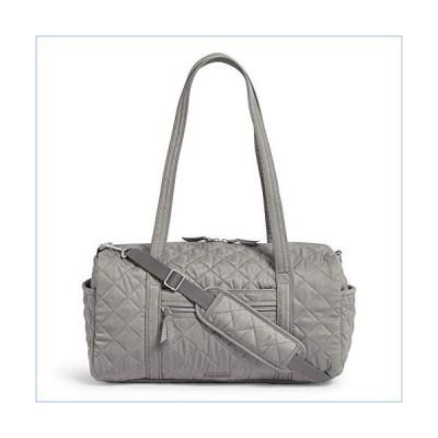 Vera Bradley Women's Performance Twill Small Travel Duffel Travel Bag, Tranquil Gray, One Size並行輸入品
