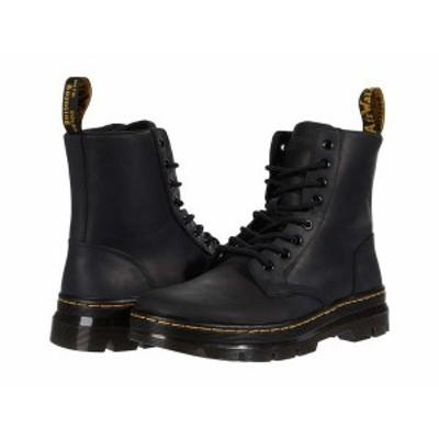 ドクターマーチン メンズ ブーツ・レインブーツ シューズ Combs Leather Black Wyoming