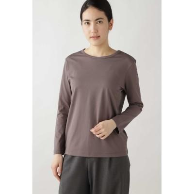 【ヒューマンウーマン/HUMAN WOMAN】 新きょう綿ロングスリーブTシャツ