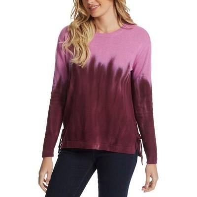 ジェシカシンプソン Jessica Simpson レディース ニット・セーター トップス Amara Dip-Dye Sweater Wine Sorbet