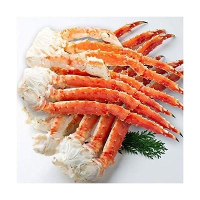 さっぽろ朝市 高水 タラバガニ 脚 大型ボイルたらば蟹 足 計3.2kg (800g×4肩) フルシェイプ