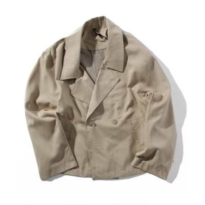 INA STUDIOS ZOO / 「INASTUDIOS SELECT」ショートトレンチジャケット MEN ジャケット/アウター > テーラードジャケット
