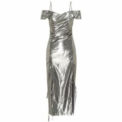 レジーナ ピヨ Rejina Pyo レディース ワンピース ワンピース・ドレス Adeline lame dress silver