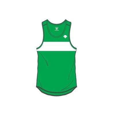デサント カスタムオーダー受注生産 ランニングシャツ(メンズ) 陸上・ランニング ウエア ORN4704-GNWG ベースカラー:グリーン