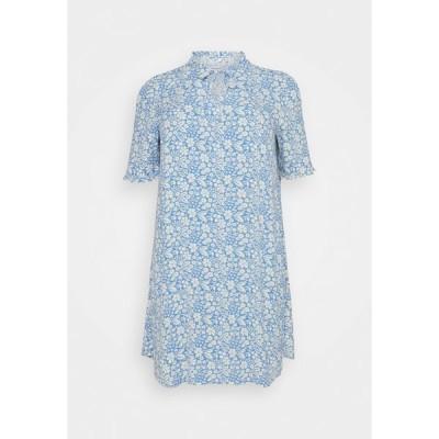 マイ トルー ミー トム テイラー ワンピース レディース トップス DRESS FEMININE A-LINE - Day dress - blue