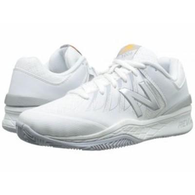 New Balance ニューバランス レディース 女性用 シューズ 靴 スニーカー 運動靴 WC1006v1 White/Silver【送料無料】