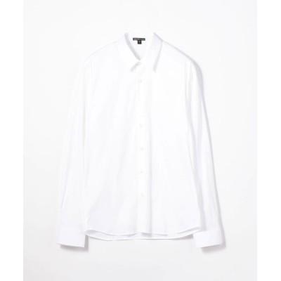 【トゥモローランド】 マットストレッチ ポプリンシャツ MCJ3802 メンズ 11ホワイト 3(LL) TOMORROWLAND