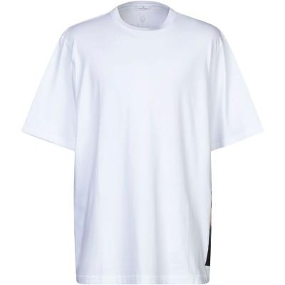 マルセロ ブロン MARCELO BURLON T シャツ ホワイト XS コットン 100% T シャツ
