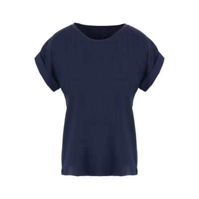 セイブ・ザ・ダック SAVE THE DUCK T シャツ ダークブルー 0 ナイロン 83% / ポリウレタン 17% T シャツ
