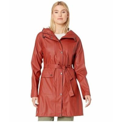イルセヤコブセン コート アウター レディース Lightweight True Rain Belted Trench Coat Burnt Henna