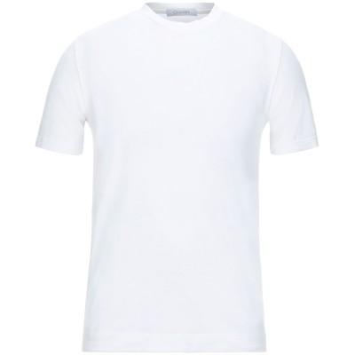 クルチアーニ CRUCIANI T シャツ ホワイト 56 コットン 92% / ポリウレタン 8% T シャツ