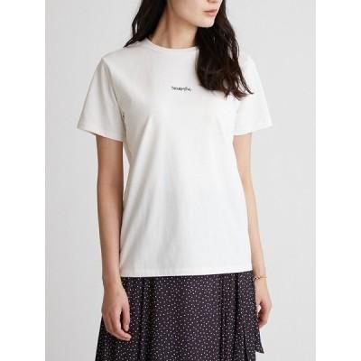 tシャツ Tシャツ 手書き風ロゴTシャツ
