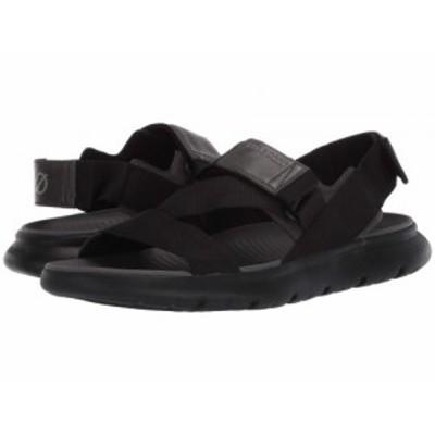 Cole Haan コールハーン メンズ 男性用 シューズ 靴 サンダル Zerogrand MVR Sandal Black/Black【送料無料】