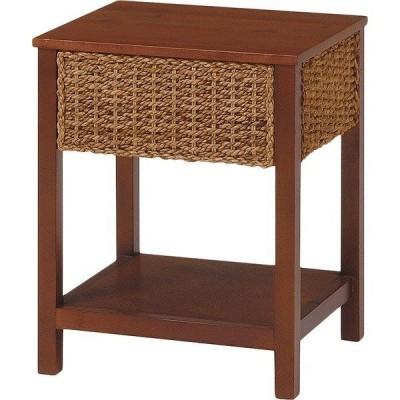アジアンテイスト サイドテーブル ラタン リゾート デザイン ベッド ソファ サイド ナイトテーブル スタイリッシュ リビング センター テーブル インテリア 家具