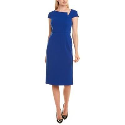 ドナモーガン レディース ワンピース トップス Donna Morgan Sheath Dress blue sapphire
