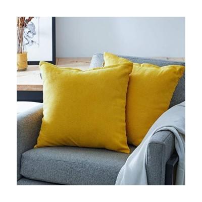 <新品>トップFinelソリッドベルベット正方形ソフトスロー枕クッションカバー枕カバー用のソファベッ