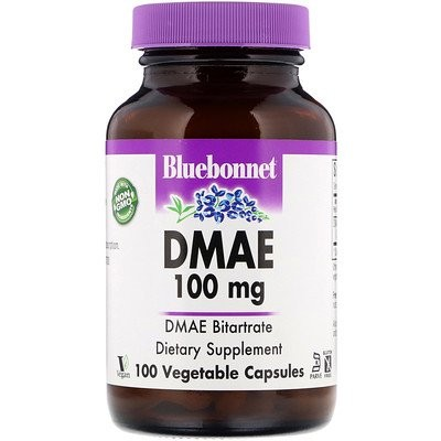 DMAE、100 mg、100ベジカプセル
