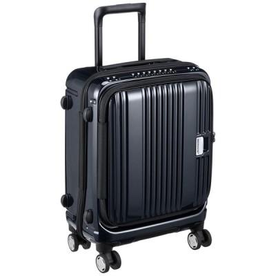 [バーマス] スーツケース ジッパー ユーロシティ フロントオープン 機内持ち込み可 60290 38L 46 cm 2.8kg ブラック