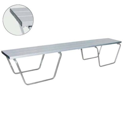 グランド用長椅子180 (JS82904/EKA698)(分類:体育館用品)(CQB27)