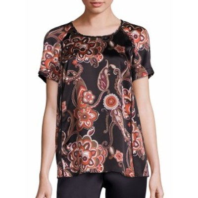 ラファイエット148ニューヨーク レディース トップス シャツ Silk Paisley-Print Kate Blouse