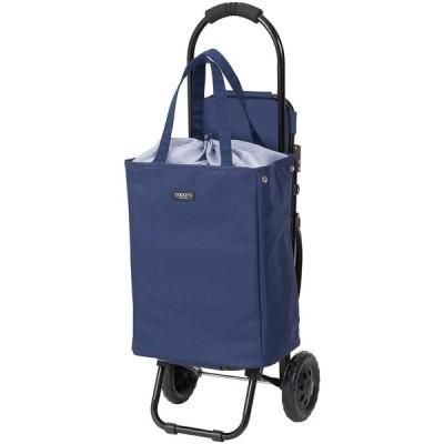 レップ(REP) COCORO(ココロ) ショッピングカート 折りたたみ 椅子付き (保冷 保温) ブレイク ネイビー(12) サイズ:W300xD1