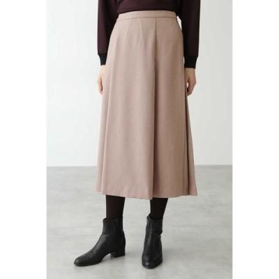 HUMAN WOMAN / ヒューマンウーマン ◆リサイクルポリエステルツイルスカート