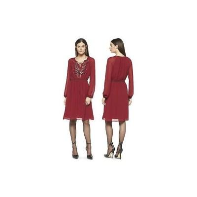 ワンピース アルトゥザラ  Altuzarra Target Limited Edition Ruby Hill Peasant Embroidery Dress 4 6 8