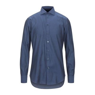 エトロ ETRO シャツ ダークブルー 40 コットン 100% シャツ