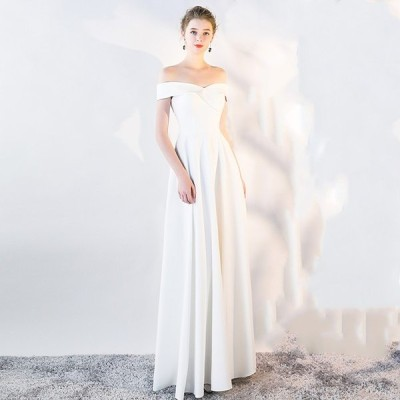 ウェティグドレス  Aラインドレス  ロングドレス 結婚式 パーティードレス 安い 大きいサイズ  二次会 海外挙式 花嫁 ドレス おしゃれ