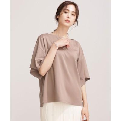 エコミラクルアップ スリットスリーブTシャツ 半袖