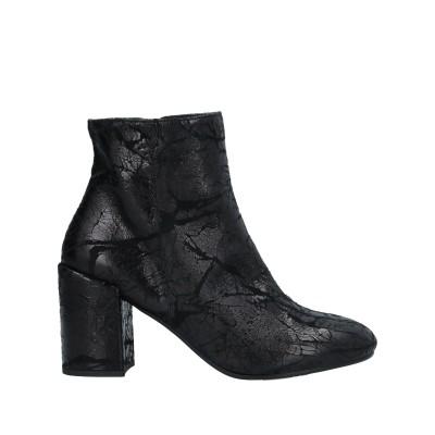 VIAPANTALEONI® ショートブーツ ブラック 37 革 ショートブーツ
