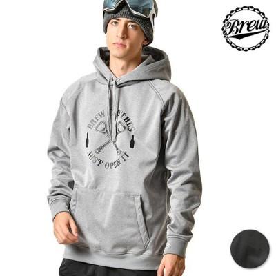 スノーボード パーカー BREW CLOTHES ブリュー クローズ 20BRE05005 SENNUKI 19-20モデル メンズ インナーウェア GG K18