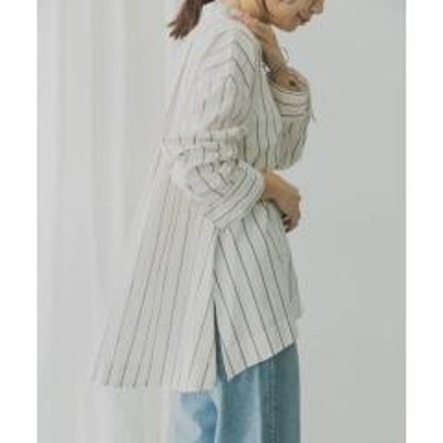ケービーエフKBF+ マルチストライプシャツ【お取り寄せ商品】