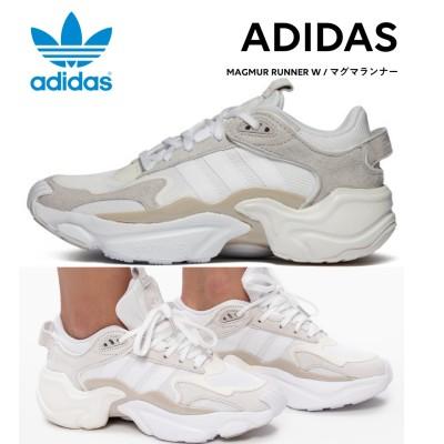[ADIDAS] アディダス ランナー MAGMUR RUNNER WOMEN WHITE ホワイト EG6838