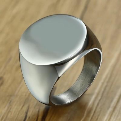 指輪 メンズ リング ステンレス 名入れ刻印 おしゃれ 大人