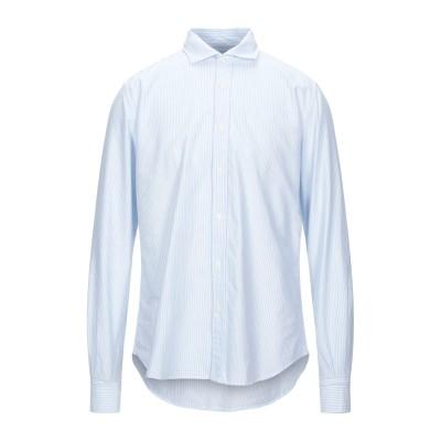 PORTOFIORI シャツ スカイブルー 43 コットン 100% シャツ