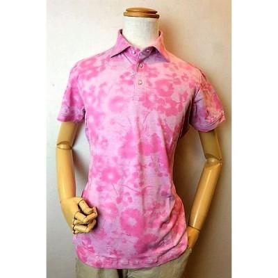 セール20%OFF インポート イタリア製 M&Y エムアンドワイ 半袖ポロシャツ ピンク 春夏新作 メンズウェア