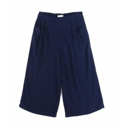 ファッション パンツ Elodie NEW Navy Blue Womens Size XL Capris Cropped Wide Leg Pants