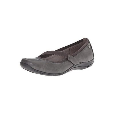 ライフストライド フラッツ オックスフォード シューズ 靴 LifeStride 9328 レディース Drastic グレー スリッポン Mary Janes シューズ 8 ミディアム (B,M)