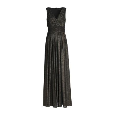 BADGLEY MISCHKA ロングワンピース&ドレス ブラック 8 ポリエステル 100% ロングワンピース&ドレス