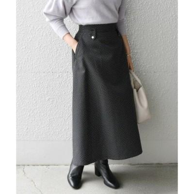SHIPS for women / シップスウィメン SHIPS any: ジャカード ドット スカート