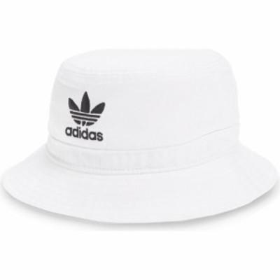 アディダス ADIDAS ORIGINALS メンズ ハット バケットハット 帽子 Washed Bucket Hat White